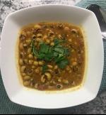 Creamy (Dairy-free!) Black-eyed Peas Curry